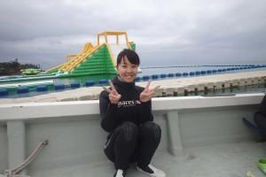 2016.03.25 大浦湾ボート ファンダイビング