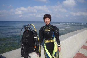 2016.04.19 砂辺ビーチ ファンダイビング