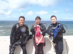 2016.04.23 砂辺ビーチ ファンダイビング