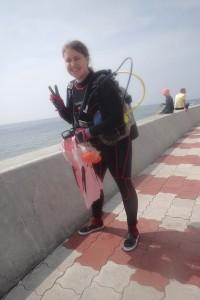 2016.04.02 砂辺ビーチ スノーケル&体験ダイビング