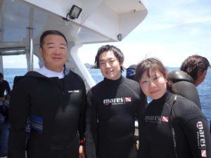 2016.05.15 慶良間ボート OWDコース&付き添いファンダイビング