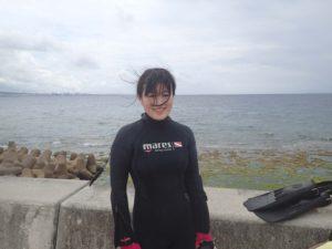 2016.05.25 砂辺ビーチ 体験ダイビング