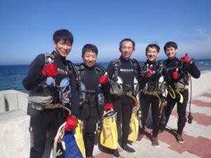 2016.05.29 砂辺ビーチ OWD講習
