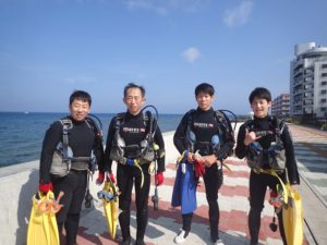 2016.06.04 砂辺ビーチ OWDコース