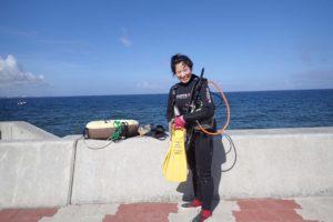 2016.06.24 砂辺ビーチ OWD海洋実習