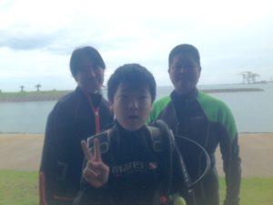 2016.06.12 那覇シーサイドパーク パディ・オープン・ウォーター・ダイバー・コース