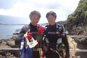 2016.08.02 真栄田岬ビーチ 体験ダイビング