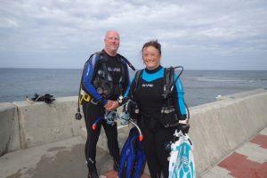 2016.09.22 砂辺ビーチ ファンダイビング