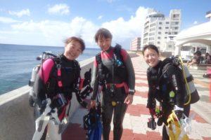 2016.09.24 砂辺ビーチ AOWコース&ファンダイビング