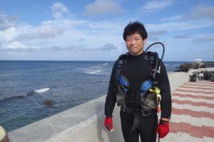 2016.09.14 砂辺ビーチ OWDコース