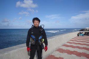 2016.09.15 砂辺ビーチ OWDコース