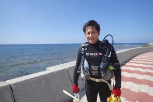 2016.10.27 砂辺ビーチ ファンダイビング