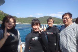 2016.10.29 慶良間ボート 体験ダイビング
