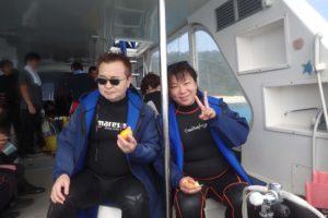 2016.11.04 慶良間ボート ファンダイビング