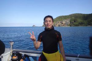 2016.12.19 慶良間ボート ファンダイビング