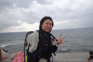 2017.02.17 砂辺ビーチ ファンダイビング