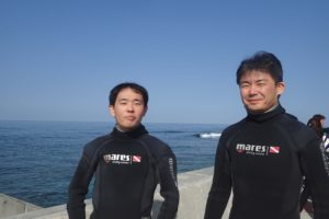 2017.03.04 砂辺ビーチ スノーケル&体験ダイビングコース