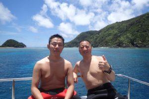 2017.06.28 慶良間ボート ファンダイビング