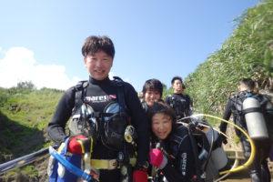 2017.08.13 真栄田岬ビーチ スノーケル&体験ダイビングコース