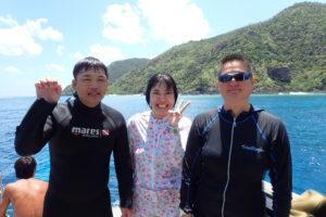 2017.08.15 慶良間ボート AOWコース&ファンダイビング