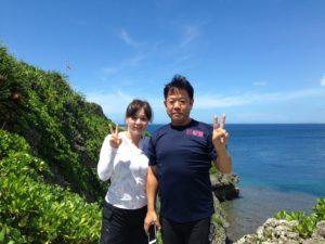 2017.09.06 真栄田岬ビーチ ファンダイビング