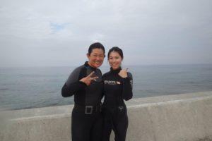 2017.09.03 砂辺ビーチ OWDコース&AOWコース