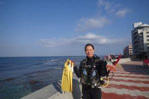 2017.09.30 砂辺ビーチ OWDコース