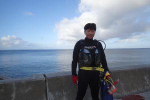 2017.10.09 砂辺ビーチ ファンダイビング