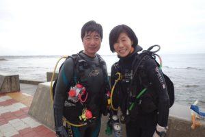 2017.10.14 砂辺ビーチ ファンダイビング
