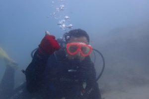 2017.10.20 奥武島ビーチ スノーケル&体験ダイビングコース