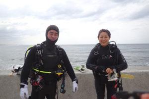 2017.10.31 砂辺ビーチ ファンダイビング