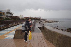 2017.11.14 砂辺ビーチ ファンダイビング