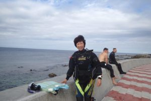 2017.11.28 砂辺ビーチ ファンダイビング