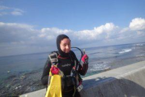2017.12.15 砂辺ビーチ 体験ダイビング
