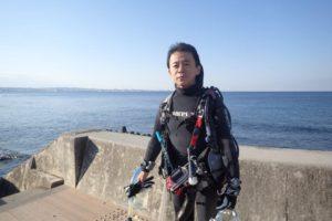 2017.12.22 砂辺ビーチ ファンダイビング