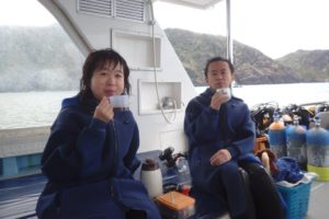 2017.12.23 慶良間ボート ファンダイビング