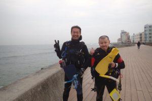 2018.03.02 砂辺ビーチ ファンダイビング