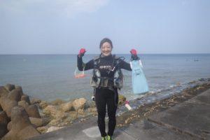 2018.03.25 砂辺ビーチ 体験ダイビングコース