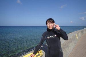 2018.04.03 砂辺ビーチ 体験ダイビングコース