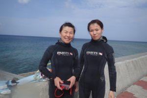 2018.04.05 砂辺ビーチ 体験ダイビングコース&ファンダイビング