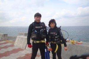 2018.04.30 砂辺ビーチ OWD海洋&つきそいファンダイブ