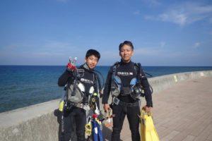 2018.05.06 砂辺ビーチ ファンダイビング