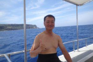 2018.05.31 粟国遠征 ボートダイビング