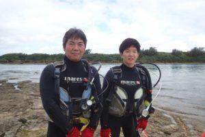 2018.06.17 奥武島ビーチ OWDコース