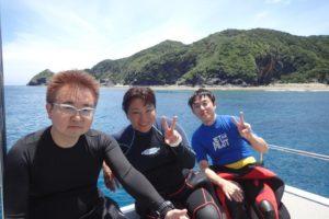 2018.06.25 慶良間ボート ファンダイビング
