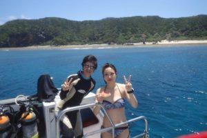 2018.07.12 慶良間ボート ファンダイビング&スキンダイビング
