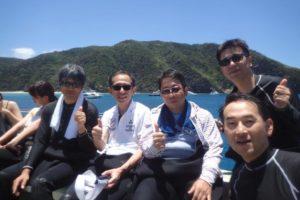 2018.07.15 慶良間ボート ファンダイビング
