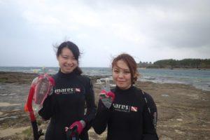 2018.08.02 奥武島ビーチ 体験ダイビング