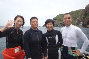 2018.08.16 慶良間ボート ファンダイビング