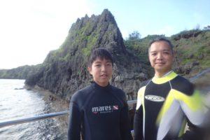 2018.08.17 真栄田岬ビーチ 体験ダイビングコース